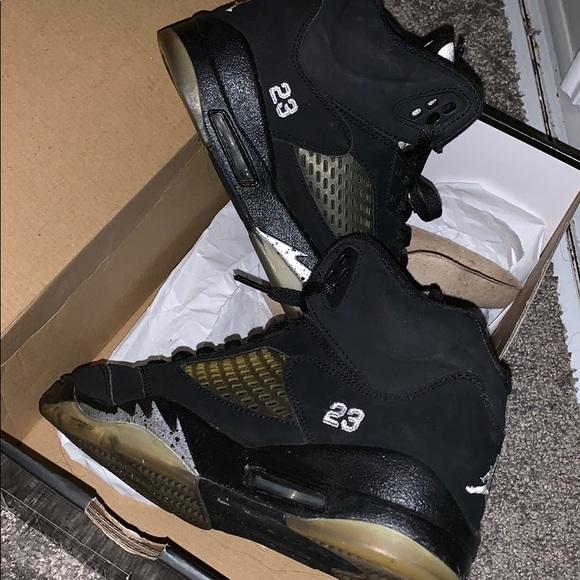 Jordan Shoes | Metallic 5s 21 | Poshmark